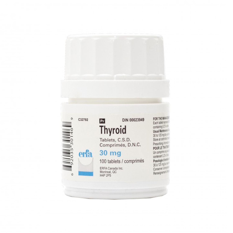 Thyroid (ERFA ½ grain)